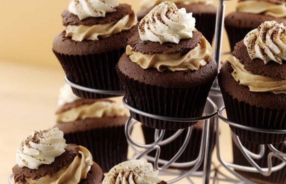 Cappuccino Cupcakes