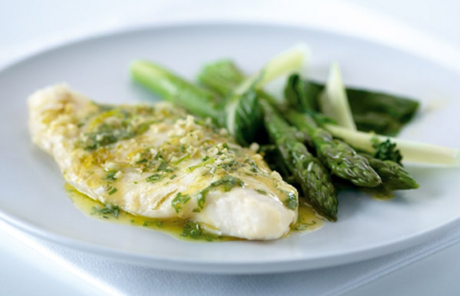 Lemongrass, Ginger and Lime Butter Fish Parcels
