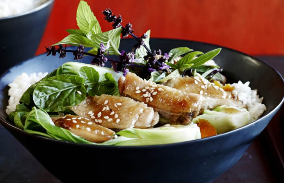 Sweet Soy & Citrus Braised Chicken