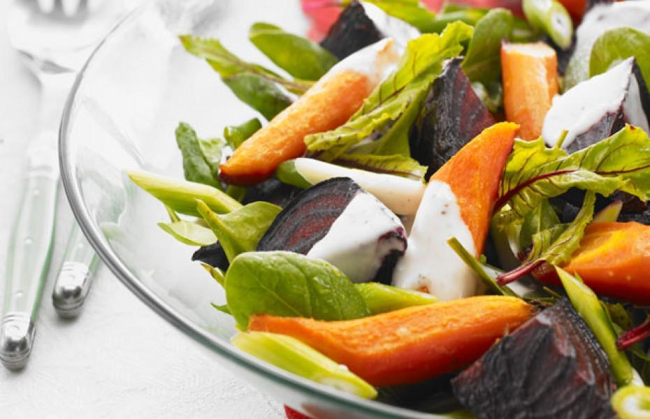 Festive Roast Beet Salad