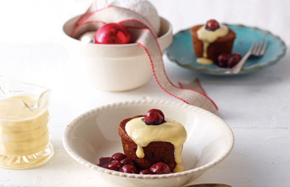 Gluten Free Mini Fruitcakes