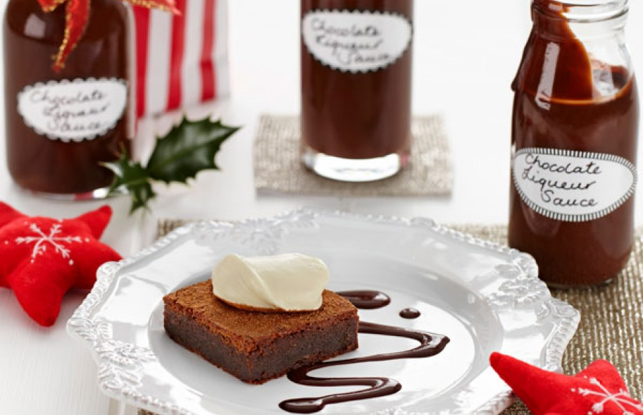 Chocolate Liqueur Sauce
