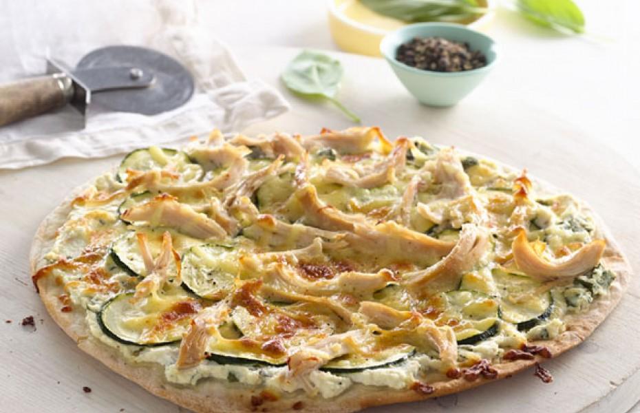 Gourmet Chicken Pizza