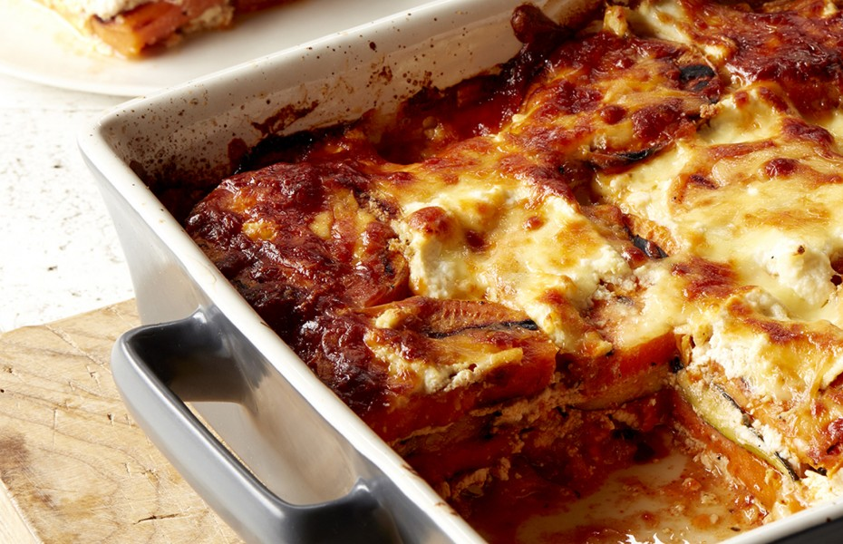 Zucchini and Sweet Potato Lasagne Recipe
