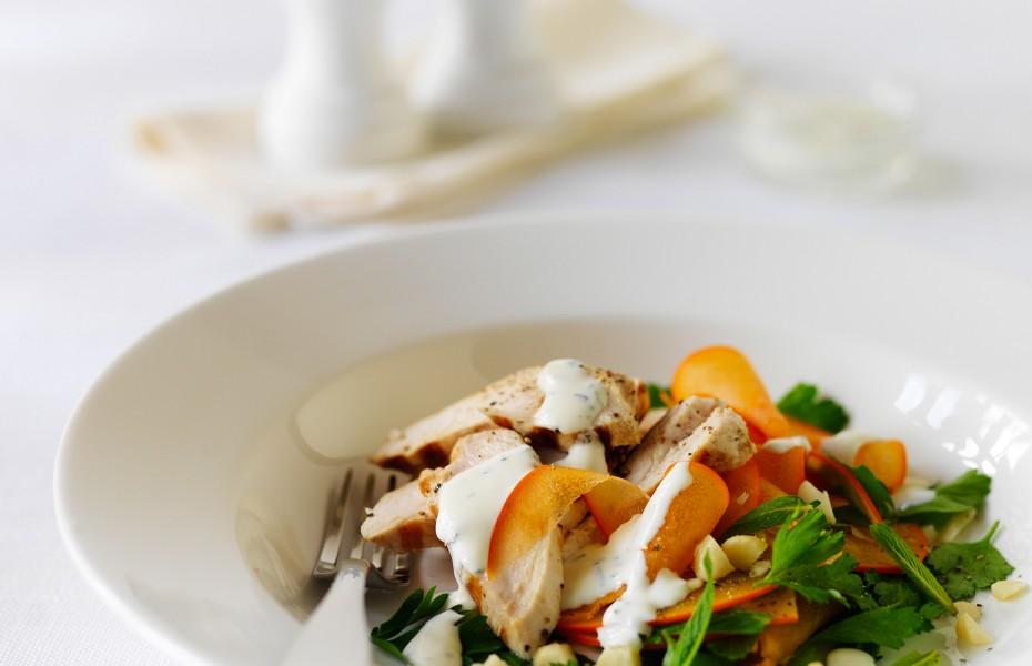Persimmon Chicken Salad Recipe