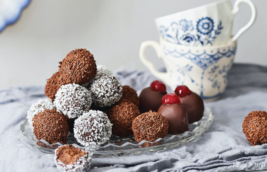 Rum balls Chocolate recipe