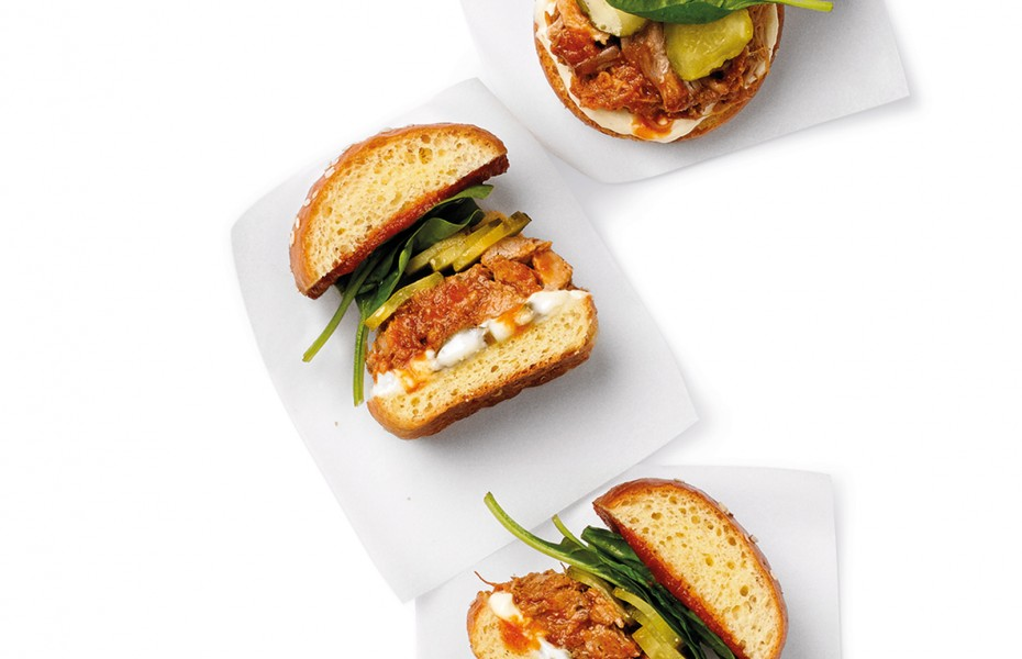 Slow Cooked Pulled Pork Sliders recipe