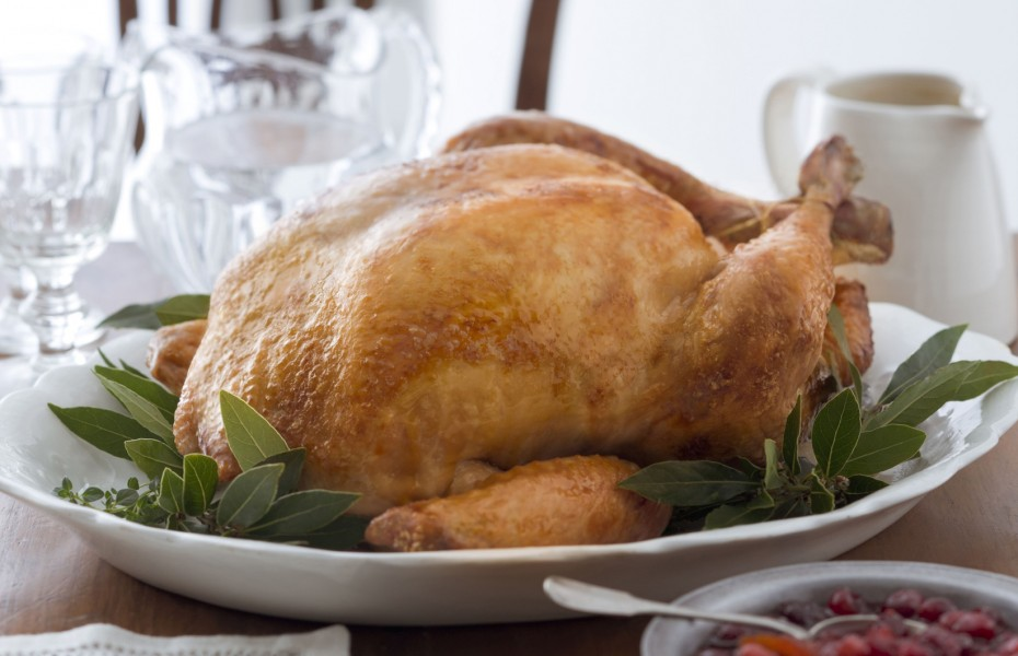 Traditional Brined Roast Turkey