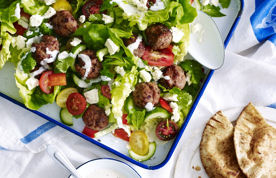 Turkey Meatball Salad