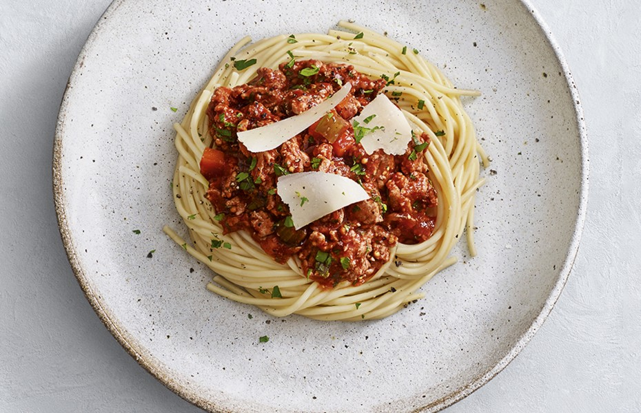 This easy turkey bolognese recipe is a perfect weeknight family dinner or if there are leftovers it can be enjoyed for lunch the net day.