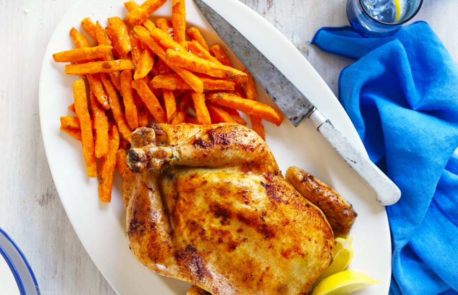 Summer Roast Chicken recipe