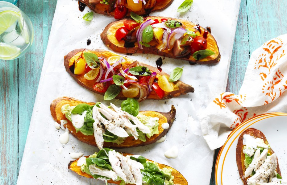 Sweet Potato Toast Toppers