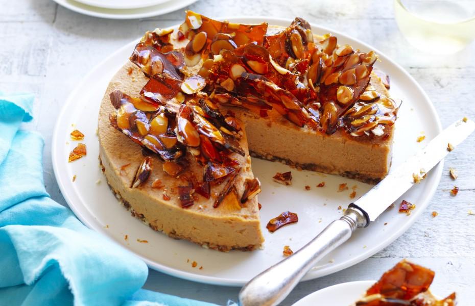 Sweet Potato Vegan Cheesecake