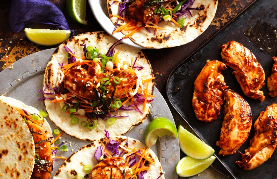 Teriyaki Chicken Tacos recipe