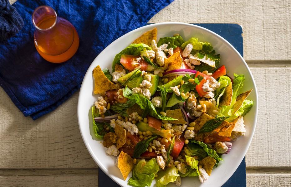 Turkey Fattoush Salad recipe