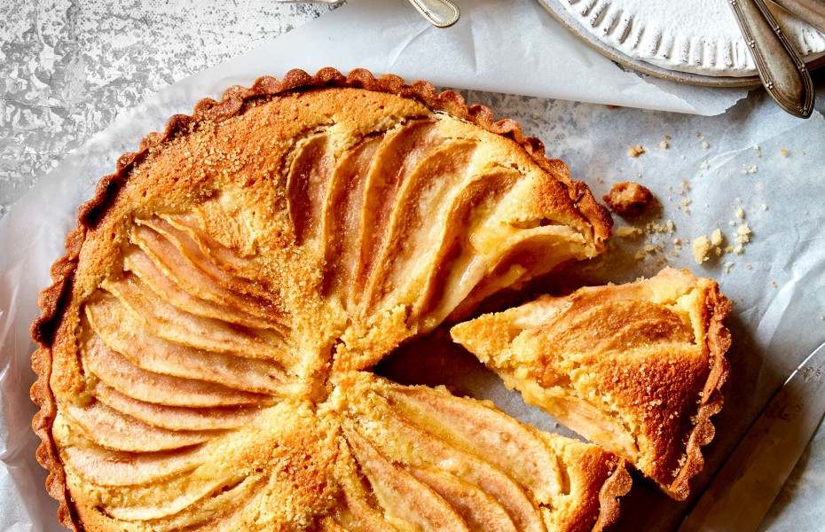 Pear Frangipane Tart with Quick Pastry recipe