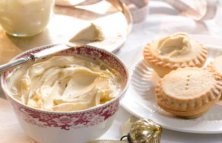Brandy Butter for christmas desserts