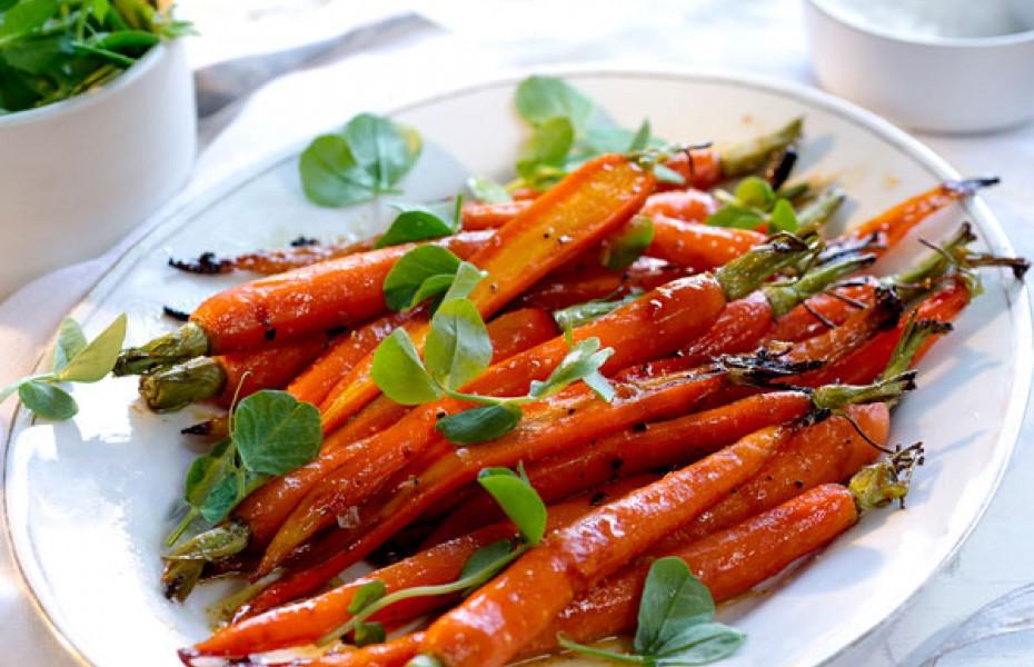 Honey Glazed Roast Carrots Recipes