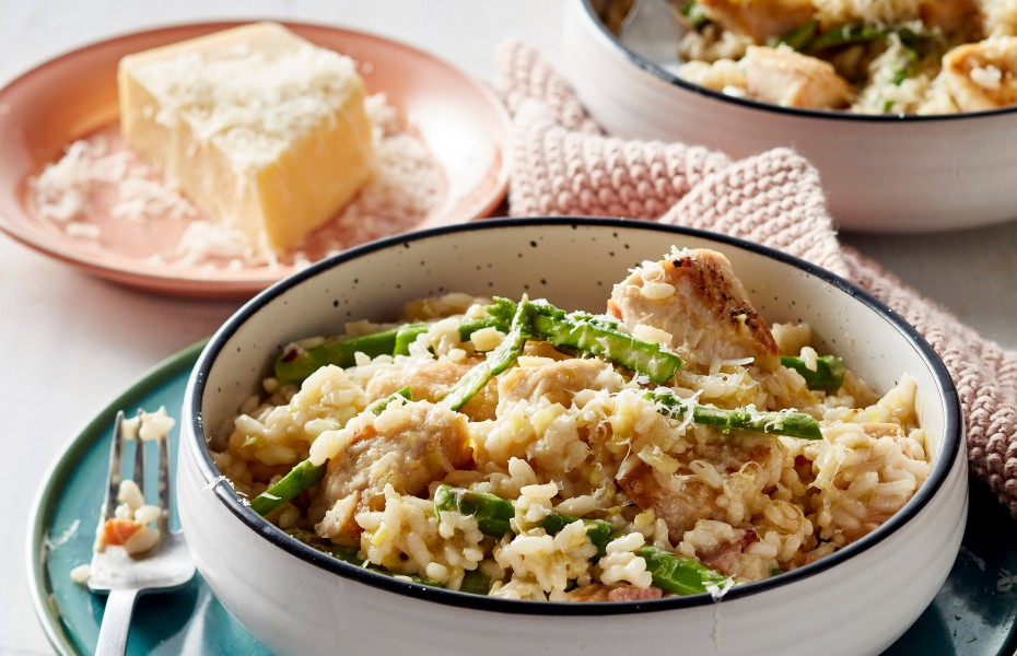 Chicken and Asparagus Risotto