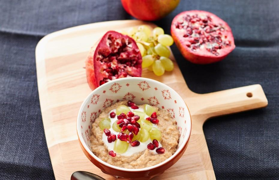 Peanut Butter Quinoa Porridge