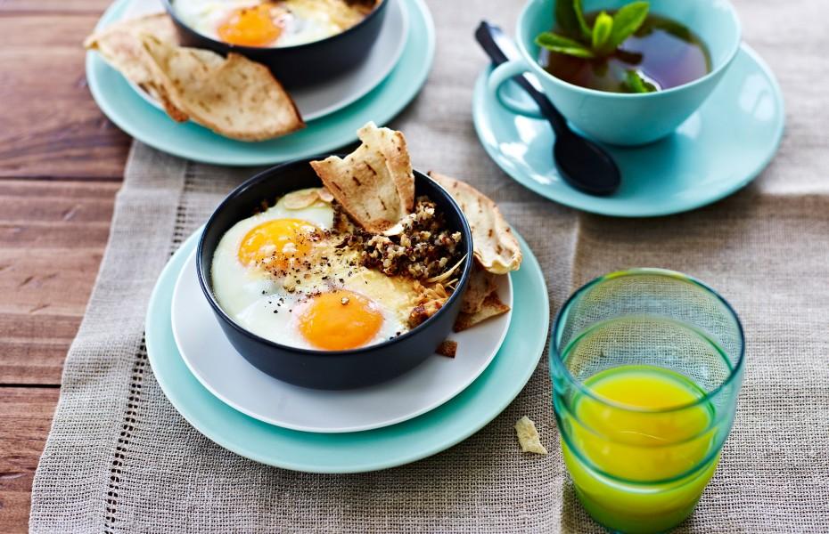 Bagdad Eggs with Quinoa