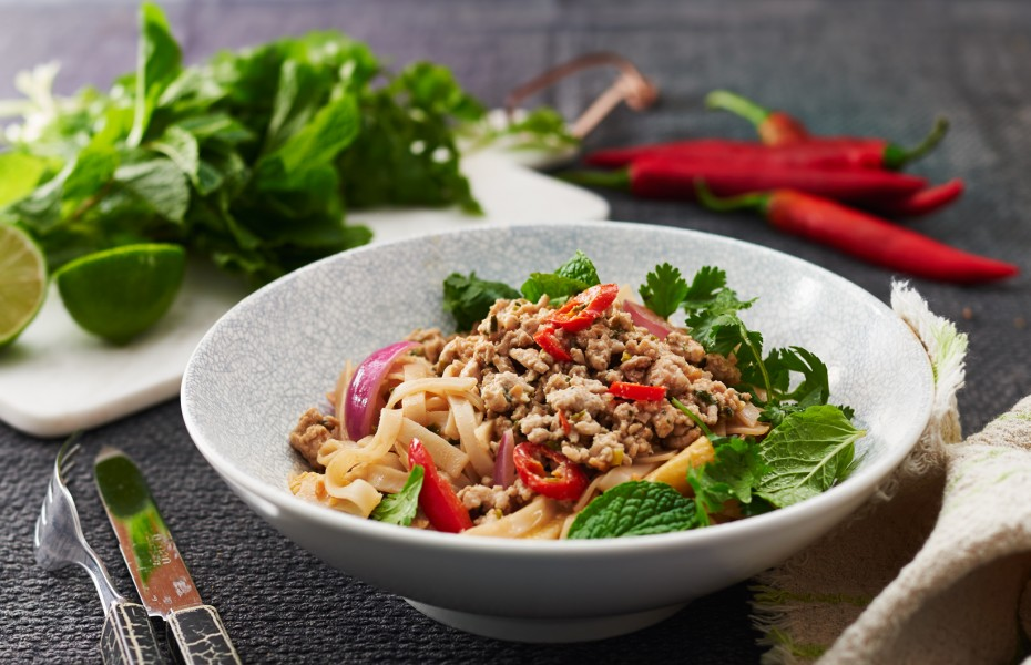 Thai Peanut and Chicken Noodle Salad