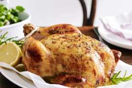 Poultry recipe collection including recipes for chicken, turkey and duck