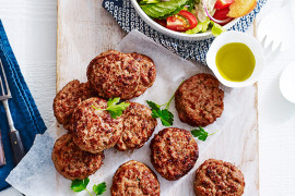 This turkey rissoles recipe is just one of the great protein dinner recipes that you will find in this collection
