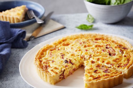 Easy quiches and savoury tart recipe ideas