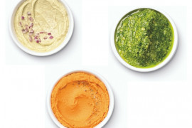 How to make dips in a blender