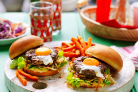 Unique homemade burger recipes