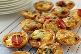 Bacon, Egg & Cheese Tartlets