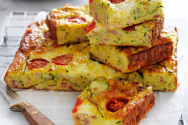 Easy savoury slice recipes