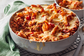 Vegetarian pasta bake recipes