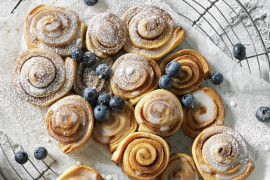 Recipe ideas for homemade scones and scrolls
