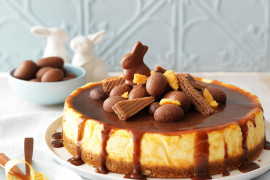 How to make an incredible chocolate Easter cheesecake