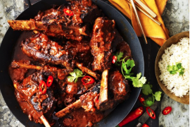 Easy slow cooker recipes - spicy vindaloo ribs