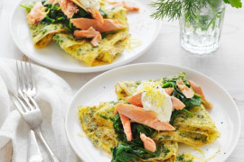 See delicious breakfast ideas like this Herb Omelette