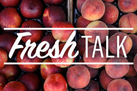 What is the difference between peaches and nectarines?