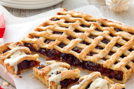 Traditional Giant Fruit Mince Pie Recipe