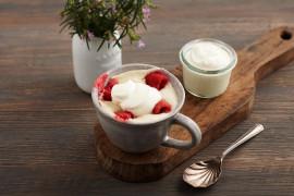 Lemon Berry Mug Pudding