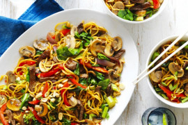 Weeknight stir-fry recipe ideas