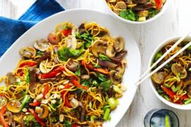 Weeknight stir-fry recipe ideas