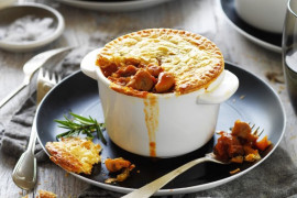Homemade savoury pie recipe ideas