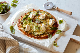 Whether you're gluten free, keto or have a fussy eater in the family, everyone is covered with our pizza recipes. Choose from cauliflower base, gluten-free pizza dough, wholemeal pizza dough or a simple pizza dough for a margherita. We've got all the pizza recipes.