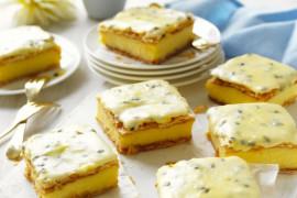 Passionfruit icing recipe for vanilla slice