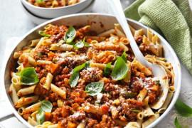 Healthy lentil bolognese sauce recipe
