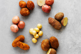 Which potatoes are best for roasting, mashing or baking