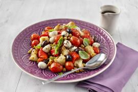 Roasted Red Panzanella Salad