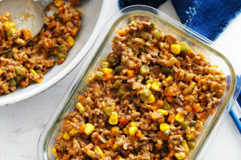 Old-fashioned savoury mince recipe